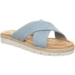 BEARPAW Womens Evelyn Slide Sandals
