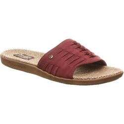 BEARPAW Womens Cedar Slip-On Sandals