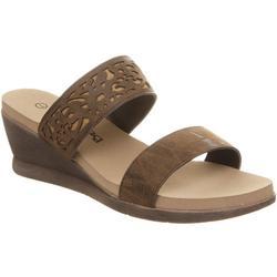 Womens Noelle Slide Wedge Sandals