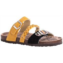 4ad3d0739c7 Muk Luks Womens Bonnie Braid Strap Sandals