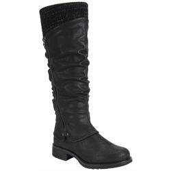 Muk Luks Womens Bianca Tall Boots