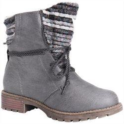 Muk Luks Womens Tatum Boots