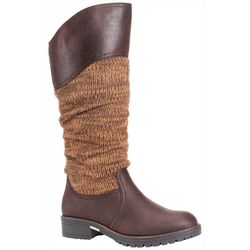 Muk Luks Womens Kailee Tall Boots