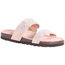 935e9625b17 Muk Luks Womens Glitter Deedee Sandals