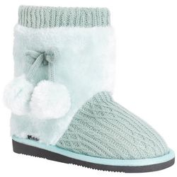 Muk Luks Big Girls Mint Delanie Boots