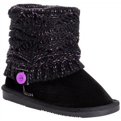 Muk Luks Girls Pink Pop Patti Boots