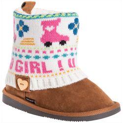Muk Luks Girls U Go Girl Patti Boots