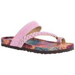 Muk Luks Womens Keia Braid Sandals