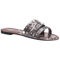 Muk Luks Womens Lexi Studded Sandals