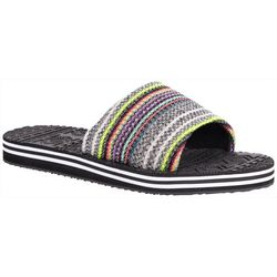 Muk Luks Womens Myra Slip-On Sandals