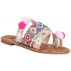 Muk Luks Womens Rory Embellished Sandals