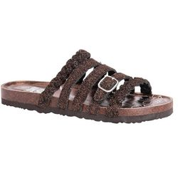 Muk Luks Womens Terri Braided Strap Sandals
