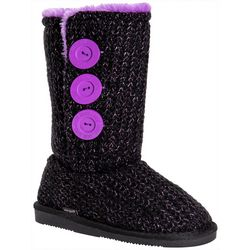 Muk Luks Girls Pink Pop Malena Boots