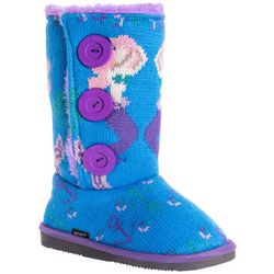 Muk Luks Girls Mermaid Malena Boots
