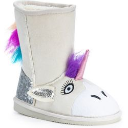 MUK LUKS Toddler Girls Luna Unicorn Boots