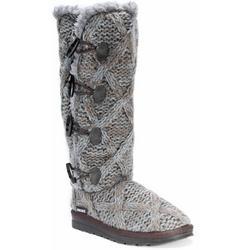 Womens Lattice Pattern Felicity Boots