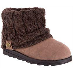 Muk Luks Womens Patti Cuff Ankle Boots