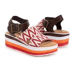 Muk Luks Womens Groove Music Sandals