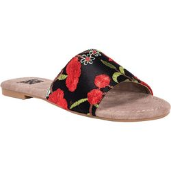 Muk Luks Womens Mellanie Slide Sandals