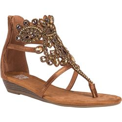Muk Luks Womens Athena Sandals