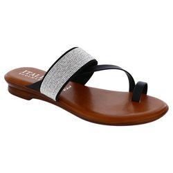 Italian Shoemakers Womens Ryann Rhinestone Sandals