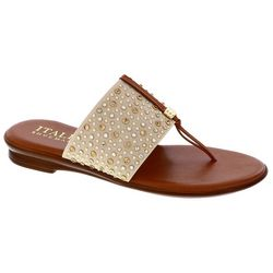 Italian Shoemakers Womens Afia Embellished Sandals