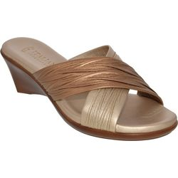 Italian Shoemakers Womens Softy Slide Sandals