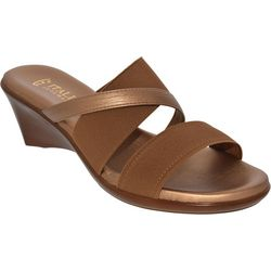 Italian Shoemakers Womens Lorel Wedge Sandals