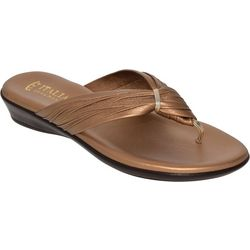 Italian Shoemakers Womens Leela Thong Sandals