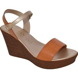 Italian Shoemakers Womens Tamieka Wedge Sandals