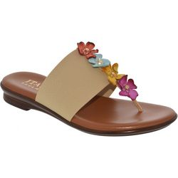 Italian Shoemakers Womens Genieve Floral Sandals