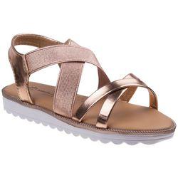 Nanette Lepore Girls Crisscross Sandals