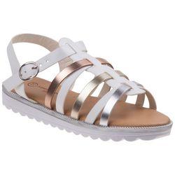 Nanette Lepore Girls Multicolor Strappy Sandals