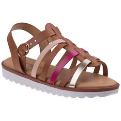 Nanette Lepore Girls Multicolor Strappy Sandals