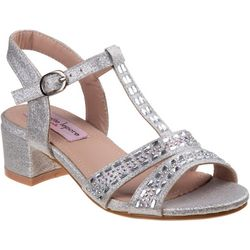 Nanette Lepore Girls Rhinestone Dressy Sandals