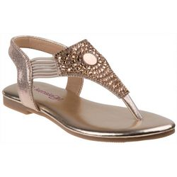 Kensie Girl Girls Rhinestone Thong Sandals
