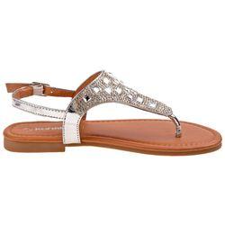 Kensie Girl Girls Jeweled Thong Sandals