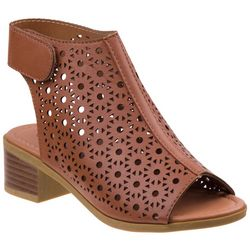 Kensie Girl Girls Cut-Out Slingback Sandals