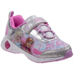 Disney Girls Frozen Light Up Athletic Shoes