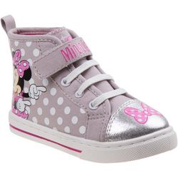Disney Minnie Mouse Polka Dot High Top Shoes