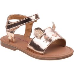 Laura Ashley Toddler Girls Cat Sandals