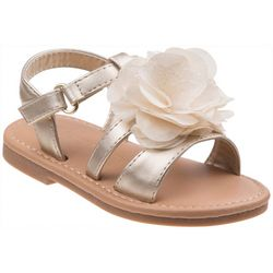 Laura Ashley Toddler Girls Stappy Flower Sandals