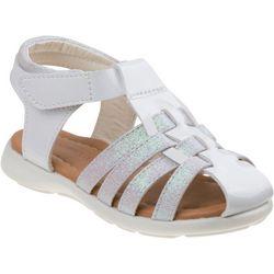 Laura Ashley Toddler Girls Glitter Detail Sandals