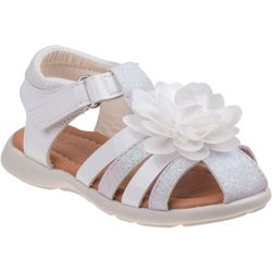 Laura Ashley Toddler Girl Floral Fisherman Sandals