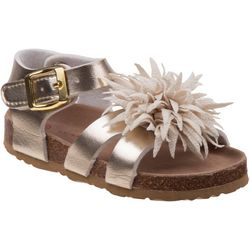 Laura Ashley Toddler Girls Floral Strappy Sandals