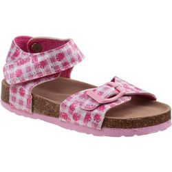 Laura Ashley Toddler Girls Cherry Print Sandals