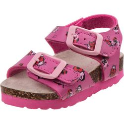 Laura Ashley Toddler Girls Ladybug Sandals