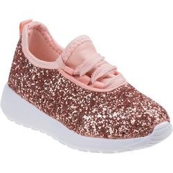 Laura Ashley Girls Glitter Athletic Shoes