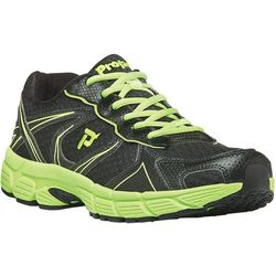 Propet USA Mens XV550 Black/Lime Athletic Shoes