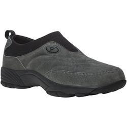 Mens Wash & Wear Slip On II Suede Shoes